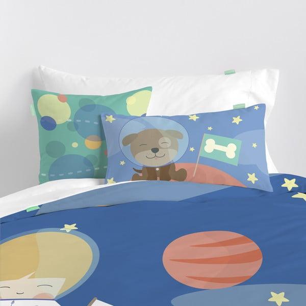 Detské obliečky z čistej bavlny Happynois Astronaut, 140×200 cm