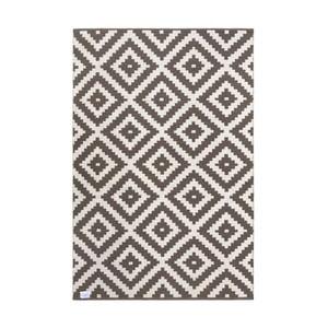 Sivo-béžový obojstranný koberec vhodný aj do exteriéru Green Decore Ava Malo, 90 × 150 cm