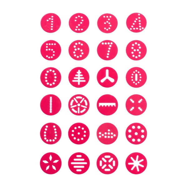 Zdobiaci cukrársky set Premier Housewares Cookie Hop Pink