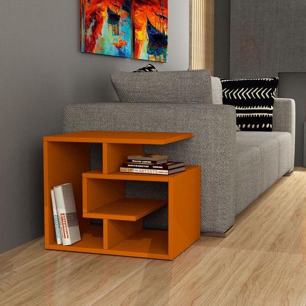 Konferenčný stolík k pohovke Labirent, oranžový