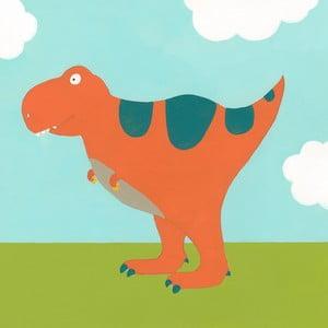 Dětský obraz Dino Play, 30x30 cm