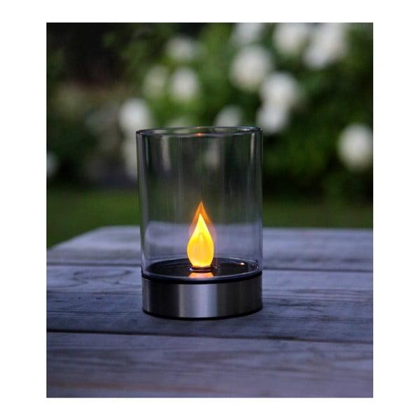 Záhradné svetlo Solar Energy Garden Light Candle Steel