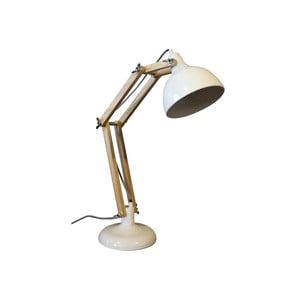 Biela stolová lampa Red Cartel Dexter