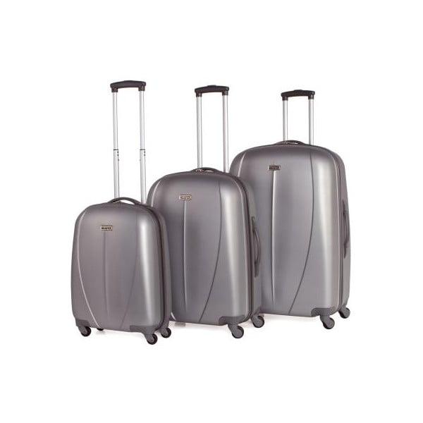 Set 3 cestovných kufrov Tempo Plata