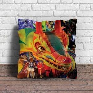 Vankúš s výplňou Carneval no. 88