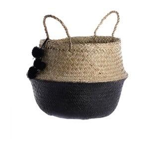 Pletený košík  InArt Pom Pom