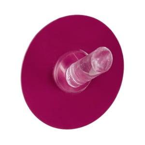 Samodržiaci háčik Static-Loc Pink, až 8 kg
