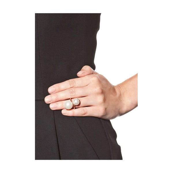 Dámsky prsteň v zlatej farbe NOMA Amelia
