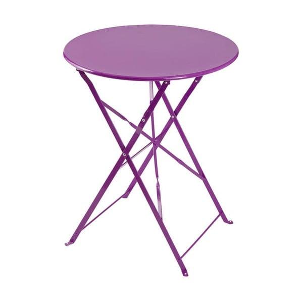 Skladací stôl Avila Purple, 72x60x60 cm