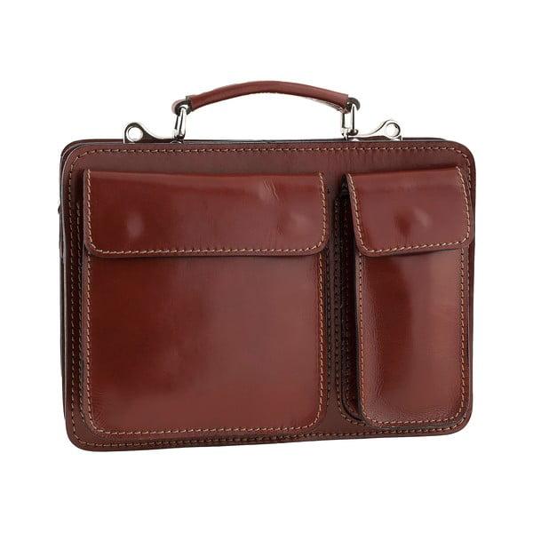 Kožená taška Ore Diece Perugia, hnedá