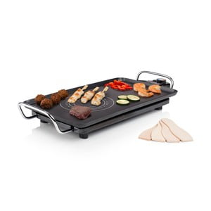 Čierny elektrický stolový gril Princess Chef Hot-Zone, príkon 2500W