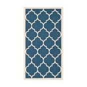 Modro-béžový koberec vhodný aj do exteriéru  Safavieh Monaco, 60x109cm