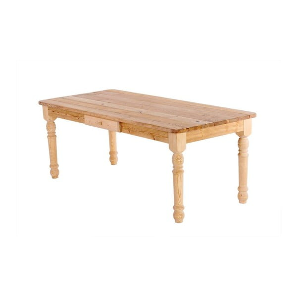 Záhradný stôl so zásuvkou Siesta Natural, 200x90 cm
