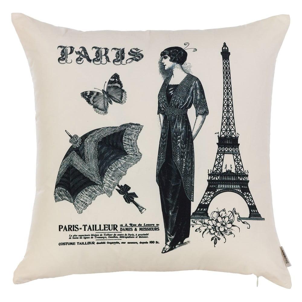 Obliečka na vankúš Apolena Paris, 43 × 43 cm