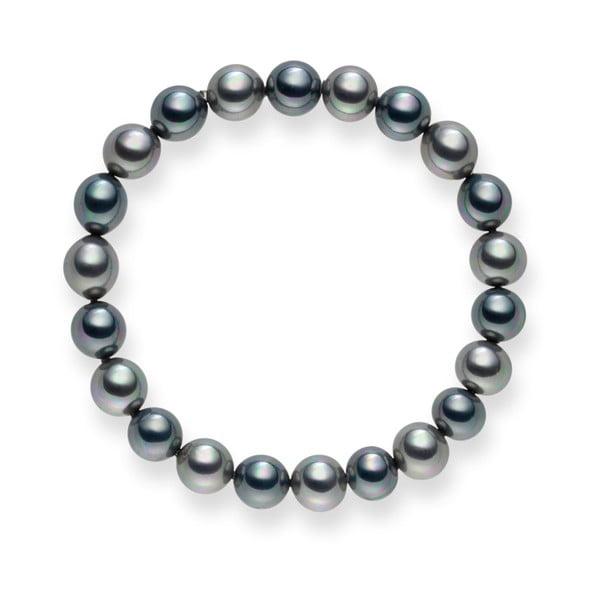 Perlový náramok Mystic Silver, 19 cm