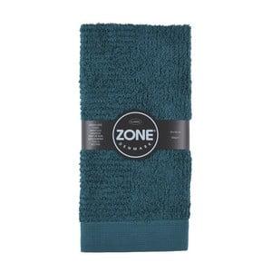 Tmavozelená osuška Zone Dark, 100x50 cm