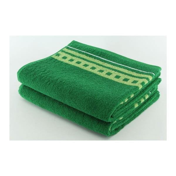 Set 2 osušiek Green, 70x140 cm