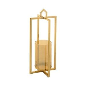 Svietnik v zlatej farbe Santiago Pons Star, výška 38 cm