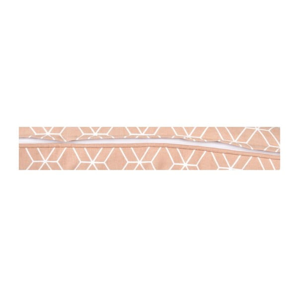 Vankúš Hexagon Dusty Pink, 50x30 cm