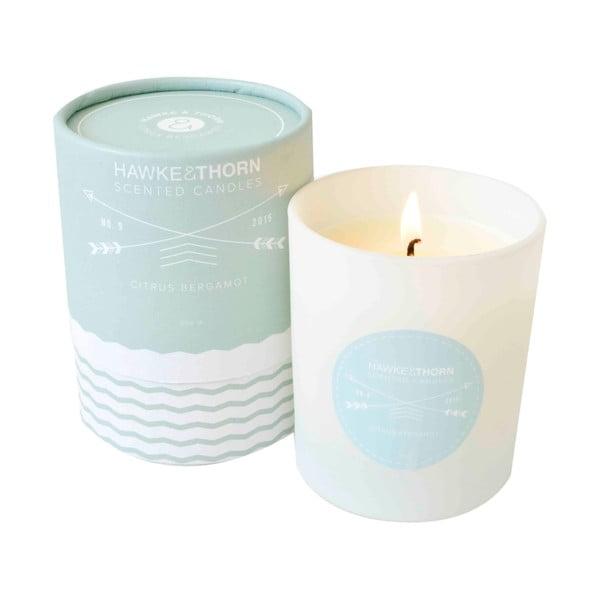 Vonná sviečka s vôňou citrusov a bergamotu Hawke&Thorn
