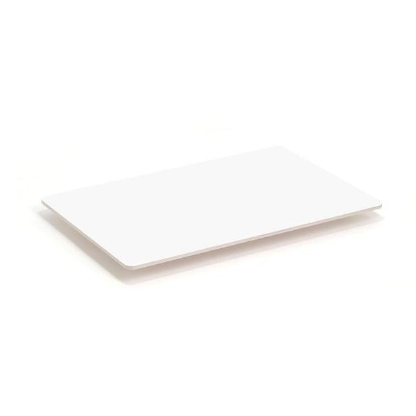 Dve kovové nohy stolu Coffee White, 110x70 cm
