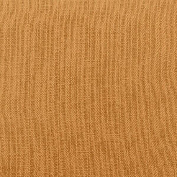 Oranžovobéžové kreslo Vivonita Sandy, tmavé nohy