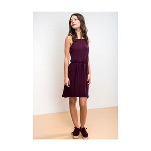 Dámske tmavofialové šaty Lull Faucon, veľ. L