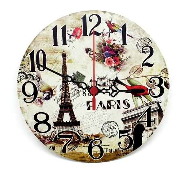 Nástenné hodiny Natural Paris, 30 cm