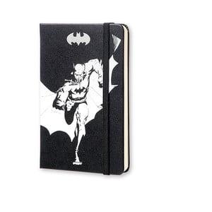 Malý zápisník Moleskine Batman, bezlinajok