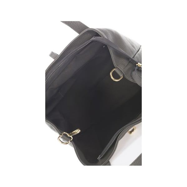 Kožená kabelka Italia 1116 Grigio