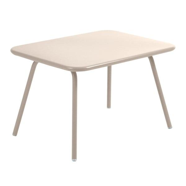 Krémový detský stôl Fermob Luxembourg