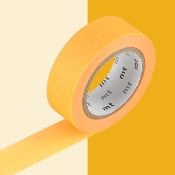 Washi páska Uni Orange Fluo