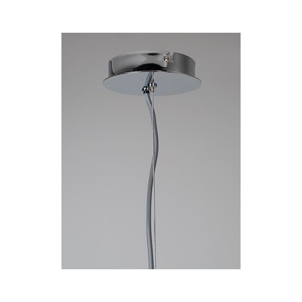 Stropné svietidlo v striebornej farbe Zuiver Retro, Ø 50 cm