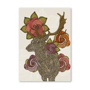 Autorský plagát Dear Deer od Valentiny Ramos