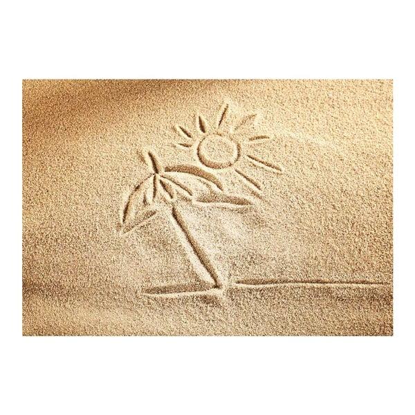 Vinylový koberec Sand, 52×75cm