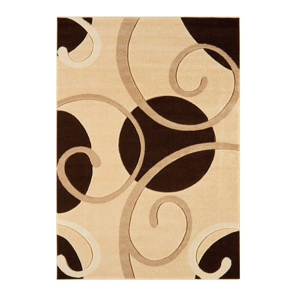 Koberec Asiatic Carpets Couture Cou Coffee, 60x120 cm