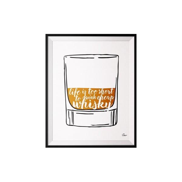 Plagát Whisky, 50x70 cm