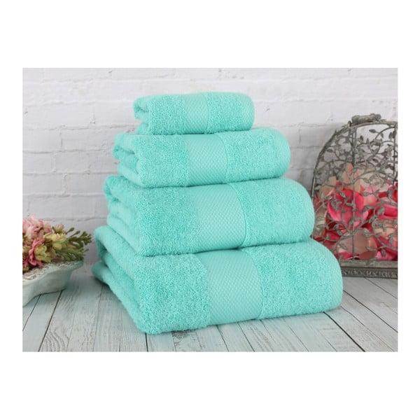 Zelený uterák Irya Home Coresoft, 50x90 cm
