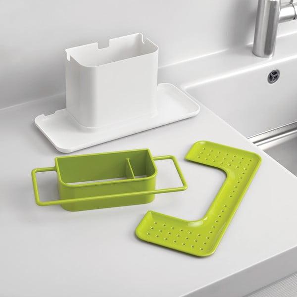 Zelený stojan na umývacie prostriedky Joseph Joseph Caddy Large