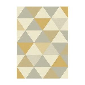 Koberec Asiatic Carpets Focus Triangles Orange, 80x150 cm