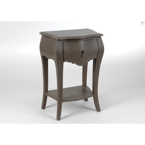 Noční stolík Muran Taupe