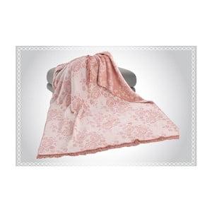 Bavlnená deka Aksu Lily, 220×180 cm