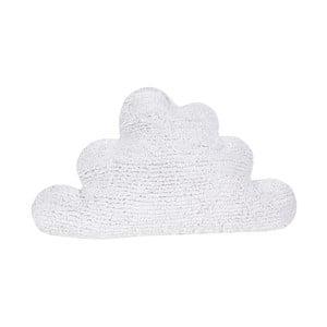 Biely bavlnený vankúš Happy Decor Kids Cloud, 45x45cm