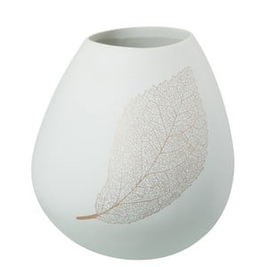 Váza J-Line Leaf, výška 28,5 cm
