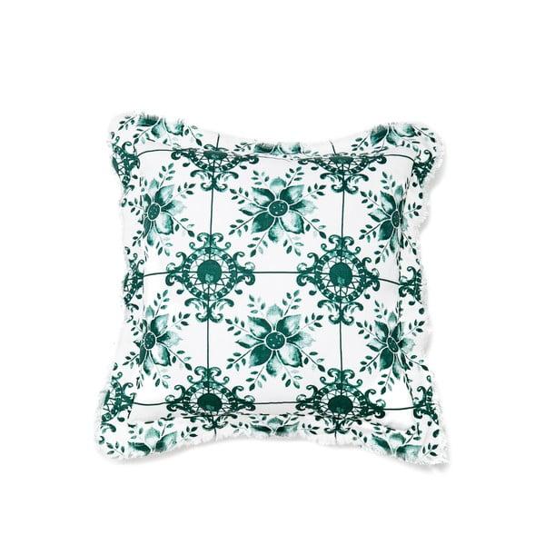 Vankúš CasaDiBassi Mosaik Green, 40x40cm