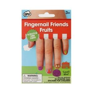 Sada nálepiek na nechty npw™ Fruits Scratch & Sniff