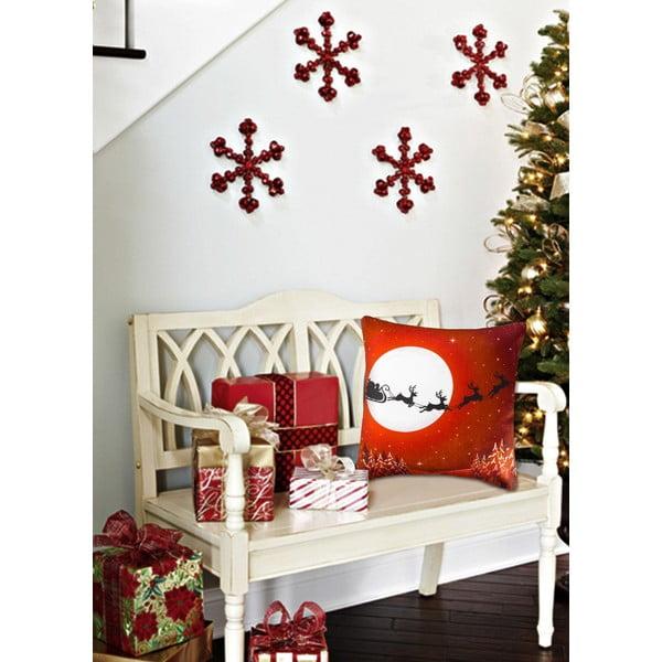 Vankúš s výplňou Christmas V26, 45 x 45 cm