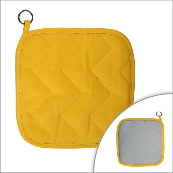 Chňapka Yellow Grey