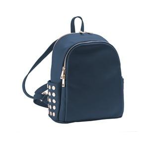 Tmavomodrý batoh z pravej kože Andrea Cardone Antique Pikalo