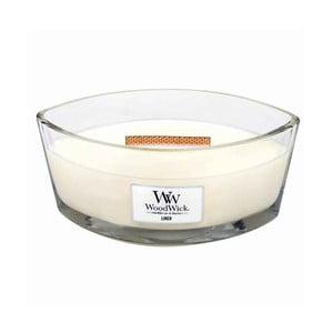 Sviečka s vôňou čerstvo vypratej bielizne Woodwick Čistá bielizeň, doba horenia 80 hodín